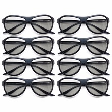 Buy 8pcs/lot Replacement AG-F310 3D Glasses Polarized Passive Glasses LG TCL Samsung SONY Konka reald 3D Cinema TV computer for $15.20 in AliExpress store