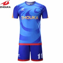 short sleeve soccer jersey Make your unique soccer team jerseys thailand football shirts voetbal shirts camisa s de futebol(China)