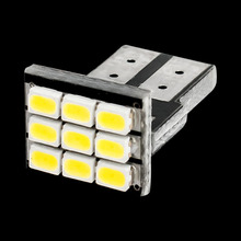 T10 192 168 W5W 9 SMD 3020 LED Car marker light reading dome Lamps 9SMD 1206 LED Auto Clearance Lights License Plate bulbs 12V(China)