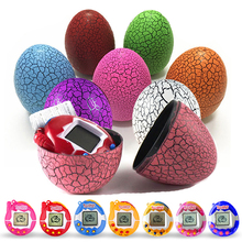 2017 New Tamagochi Pets Dragon Dinosaur Eggs Ball Virtual Cyber Digital Game Toys Tamagotchis Digital Electronic Christmas Gifts(China)