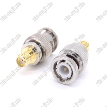 RF adapter BNC to SMA connector BNC male to SMA female Jack Convert Adaptor(China)