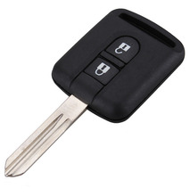 2 Buttons Car Remote Key Shells For Nissan Key Fob Replacements