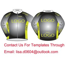 Factory Price Custom Cycling Jersey Winter Long Sleeve With Fleece High Quality Windproof Bike Clothing Customize Free Shipping(China)