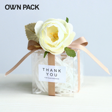 New Arrivals 10pcs/lot Clear Box/ candy boxes wedding gifts for guests wedding/ festive party supplies