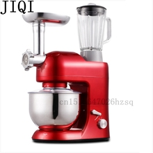 JIQI multi function household Stand Mixer Stir, knead, juicing, meat grinding electric Mixing machine 1000W power(China)