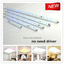 AC220V Directly No Need Driver Led Panels SMD5730 Strip Aluminum Plate for Ceiling. 5W 6W 7W 10W 20W 36W 50W 70W 100W 20PCS.(China)