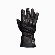 Rock biker RGB03 motorcycle racing riding knights winter warm gloves windproof cold leather(China)