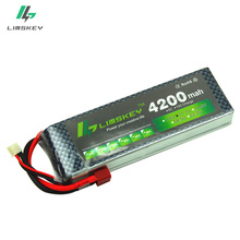 Limskey power 3S 11.1v 4200mah Lipo Battery 30c For Helicopter Four axis RC Car Boat power T XT60 JST Plug 3s lipo battery 11.1