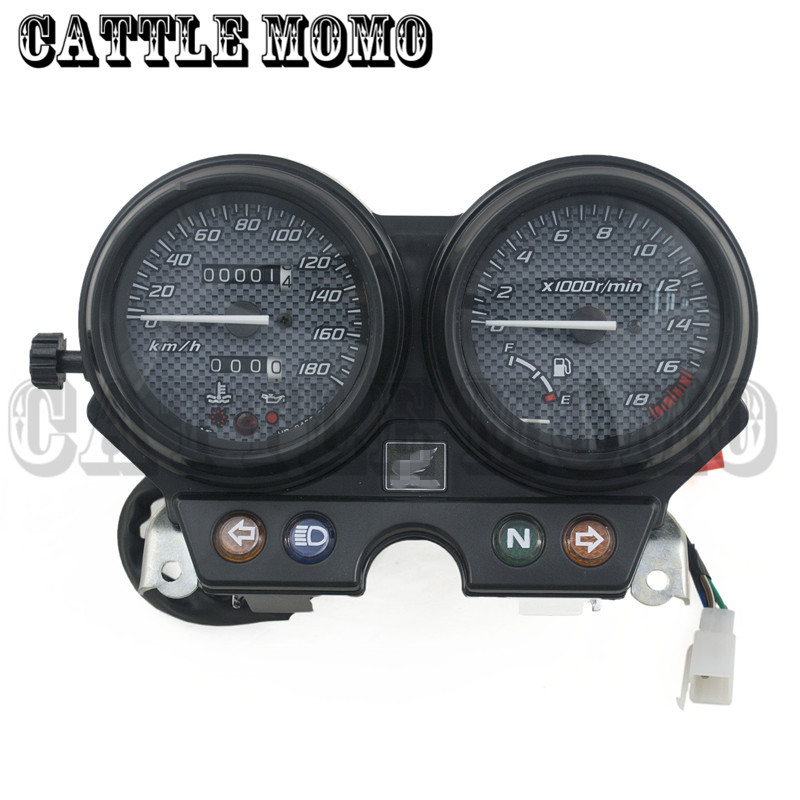 Motorcycle Gauges Cluster Speedometer Tachometer Odometer Instrument Assembly For CB250 Hornet250 CB 250 Hornet 2000-2004 2005<br><br>Aliexpress