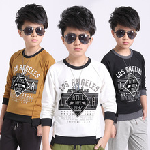 boys t shirt kids boy shirt children boy clothes child t-shirt full baby Boys Clothing Long Sleeves 2018 Children clothing(China)