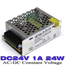 24w 1a 24V DC Power Supply for LED Strip lamp 100-240V AC to DC24V UPS LED Driver With CNC CCTV