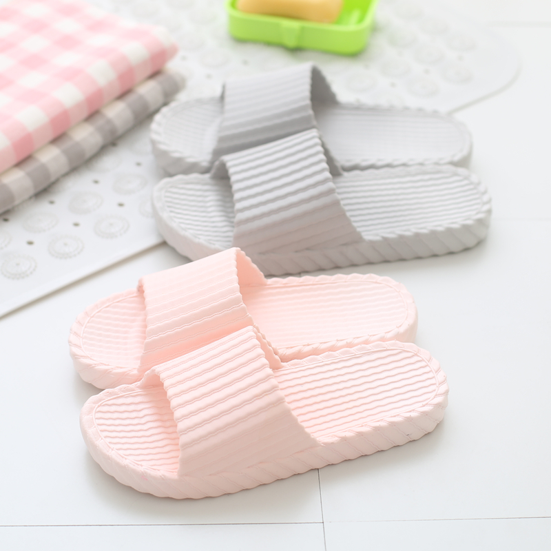 Japanese style men and women home slippers bathroom indoor non-slip floor bath slippers non-toxic Environmental protection<br><br>Aliexpress
