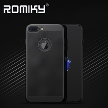 100PCS Romiky Summer Hard PC Case for iPhone 7 6S Plus Matte Case Cover Housing for iPhone 5 5S SE 6 7 Plus Hollow Out Cases