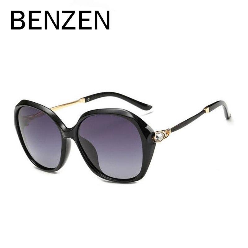 BENZEN Polarized Sunglasses Women  Rhinestone Ladies Sun Glasses Female Sunglasses Oculos De Sol Feminino Shades With Case 6142<br><br>Aliexpress