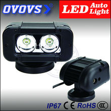OVOVS car accessories single row auto part 12v 20w led light bar for 4x4 offroad motorcycle off road(China)