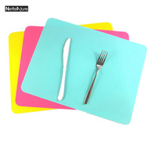1Pcs 40*30cm High Quality Silicone Mat Baking Liner Oven Silicone Mat Table Placemat Heat Resistant Pad Non Slip Pad Food Mats