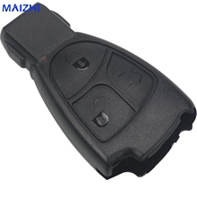 maizhi 3 Buttons Remote Key Shell fob Mercedes Benz B C E ML S CLK CL 3B 3BT Smart Key Shell Case Car-styling