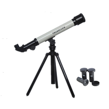 NEW HD Astronomical Telescope Educational Space Monocular Telescope Kids Gift Toy with 3 Eyepieces Science Toys for Christmas