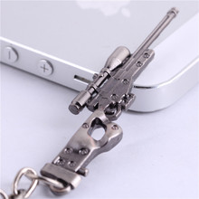CSGO AK47 AMW Gun KeyChains Tritium Metal CS GO Keychain Keyring Key Holder For Best Friends Key Chains For Men Porta Porte Clef