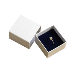 Drawer Ring Box Pink Jewelry Packaging for Earring 5*5*4cm Wholesale 90pcs/lot CLIENT LOGO DESIGN