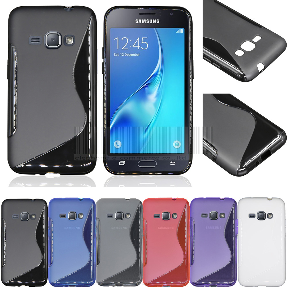 Free S Line TPU Gel Flexible Case Cover Samsung Galaxy J1 2016 J120 J120F (Not Samsung galaxy J1 J100/J100F)