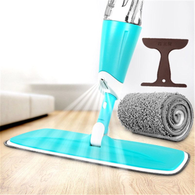 Multifunction Twist Automatic Spray Dust Magic Mop Swiffer Sweeper Bucket Sponge Microfiber Rotating Floor Cleaning Broom(China (Mainland))