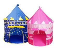Mongolia Castle, Portable,Blue and Pink Optional, Cubby Tent For Children(China)