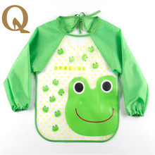 2017 the  newest  children's smock baby all waterproof and anti wear dirty children fed children clothing small apron