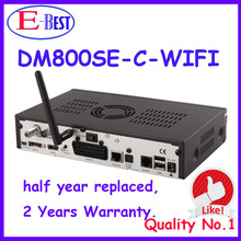 2pc/lot dm800hd se wifi HD Cable TV Receiver DVB-C SIM2.10 dm800se Linux OS Enigma2 Cable Receiver dm800se-c Decoder