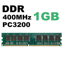 DDR 2GB (2x1GB) RAM 400 Mhz PC3200 No-Ecc Memory Ram DIMM 184-pin SDRAM Desktop PC Compatible With AMD 333/266MHz(China)