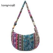 903646ff03b7 longmiao New Vintage Women Shoulder Bag Female Indian Ethnic Bags Crossbody Boho  Hippie Tribal Flower National