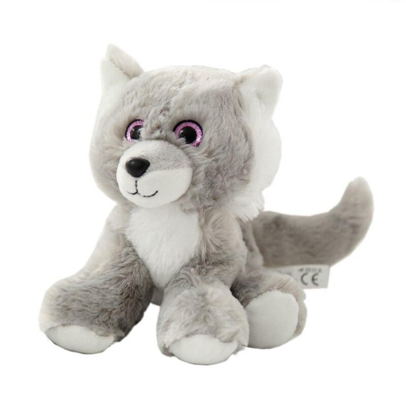 2017 New Plush Toys Soft Stuffed Peluche Animals Toys Siberian Husky Doll Birthday Christmas Gifts Cartoon Dog Model WW24<br><br>Aliexpress