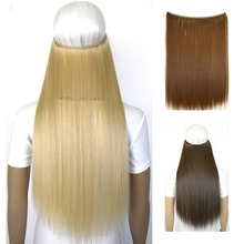 50g 20inch (50cm) mircale wire halo hair extension heat resistant B5 hair fiber
