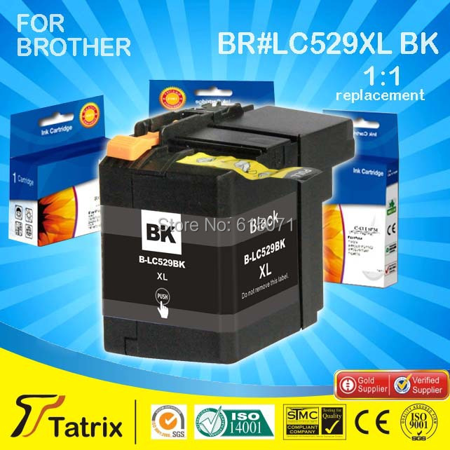 Factory selling LC 529XL compatible Ink Cartridges for Use in Deskjet Printer Compatible Ink Cartridges LC 529XL for Brother<br><br>Aliexpress