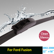 "Wiper blades for Ford Fusion (2002-2008) 22""+16"" fit standard hook arms only"