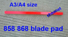 Free shipping Brand New blade cutting pad for 858 868 Stack Paper Cutter A3/A4 size(China)