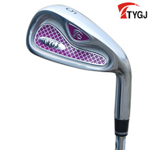 Brand TTYGJ. Single 5 IRON for women beginner.made for females 5iron golf club steel or carbon shaft. golf club #5(China)