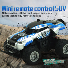 radio-controlled toys For cars Electric car toys for boys Mini 1:58 4CH Radio Remote Control Off Road RC RTR Racing Car Truck