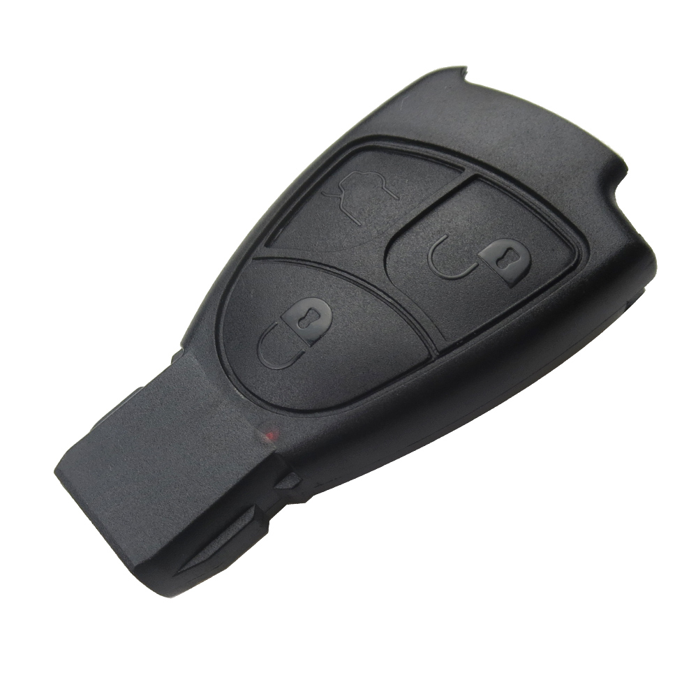 EKIY 3 button Soft Replacements Remote Key Fob smart key Case Cover For Benz Mercedes Car key Shell B C E ML S CLK CL Vito 3BT(China)
