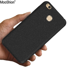 Mooshion Luxury brand case for xiaomi redmi 4x cover Frosted Shield matte silicone 5.0inch back cover +free screen protector