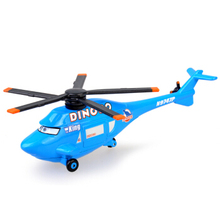 Buy Disney Pixar Cars Dinoco Helicopter King No.43 Metal Diecast alloy Toy Car plane model children 1:55 Loose Brand New for $5.99 in AliExpress store