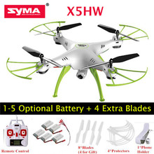 Original SYMA X5HW X5HW-1 RC Drone with wifi camera hd RC Helicopter dron remote control quadrocopter toy Quadcopter syma(China)