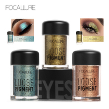 Buy Focallure 18 Colors Loose Pigment Eye Shadow Makeup Metallic Color Glitter Eyeshadow Powder Women Brand Beauty Maquiagem for $2.02 in AliExpress store