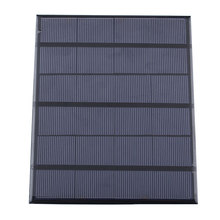 BUHESHUI Epoxy 3.5W 6V Min Solar Cell Diy Solar Panel System Module Solar Charger For 3.7V Battery Education Study 165*135*3MM