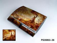 God of War 910 Vinyl Skin Sticker Protector for Sony PS3 Original fat for PlayStation 3 skins Stickers(China)