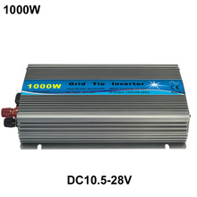 1000W PV Grid Tie Inverter DC Input 10.5-28V Specific design for 18V/36 cells PV module(China)
