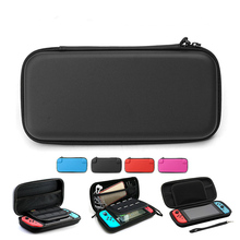 4 Colors EVA Protective Hard Case For Nintend Switch Shell Travel Carrying Storage Bag Holder Pouch NS Console With Hand Strap