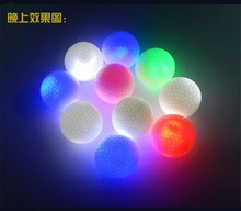 2Pcs/bag Night Tracker Flashing Light Glow Golf Balls LED Electronic Golfing New Arrival