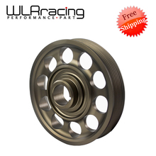 WLRING STORE Free shipping- Racing LightWeight Crank Pulley For CIVIC FD2 FD2R 2.0 K20A WLR-CP005
