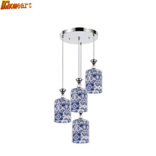 Fashion Chandelier Three Simple Creative Led Meal Chandelier Bar Dining Room Dining Table Fish Line Personality Lamps